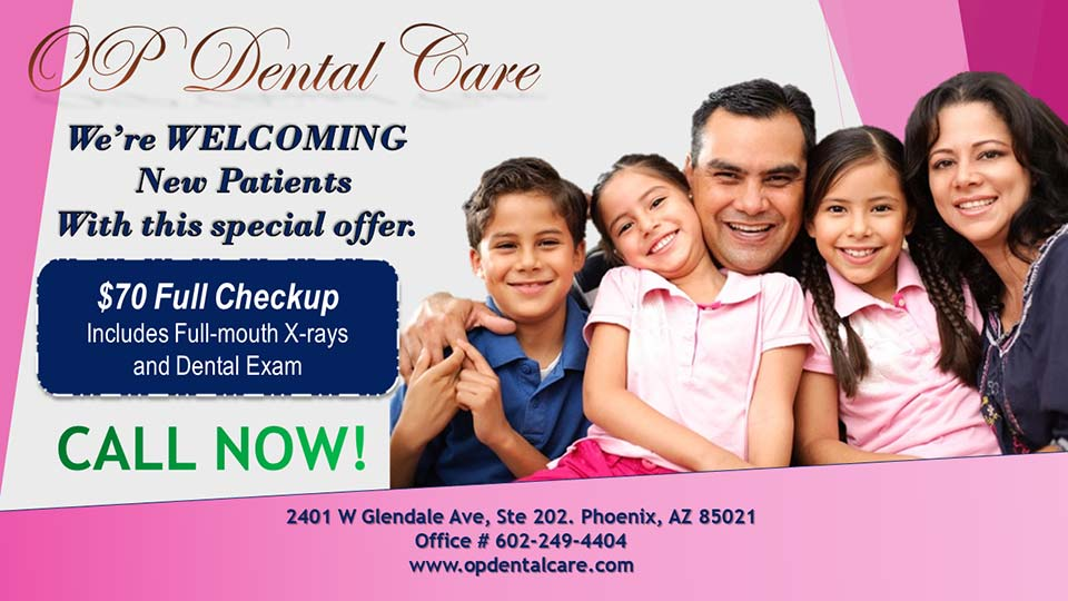 OP Dental Care New Patient Special